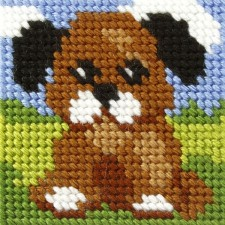 Borduurstramientje Hond - Dog