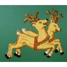 Spelende rendieren - Reindeer Play