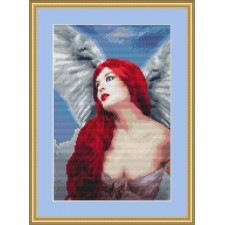 Engel in rood - Angelic Red