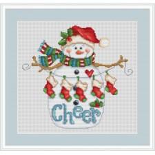 Opgewekte sneeuwman - Cheer Snowman