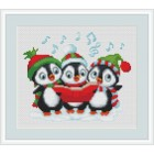 Zingende pinguins - Carolling Penguins