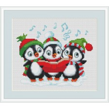Zingende pinguins - Carolling Penguins