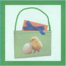 Kuiken en ei in cadeauverpakking - Chick or the egg? Giftbag