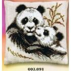 Panda met jong