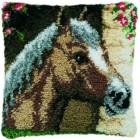 Knoopkussen paardenkop