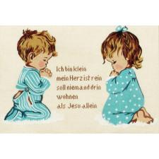 Biddende kinderen (Duits)