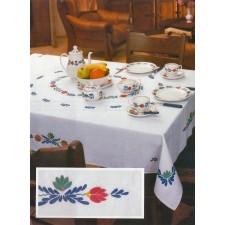 Tafelkleed boerenbont