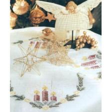 Tafellopertje kerstkaarsen
