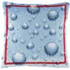 Cross Stitch cushion drops