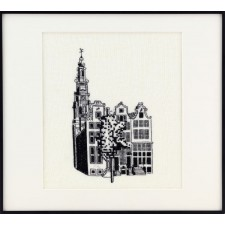 Amsterdamse Panden met Westertoren