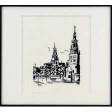 Amsterdamse Gracht met Kerken