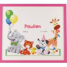 Geboortetegel Paulien/Alexander: dieren