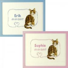 Geboortetegel: Erik/Sophie