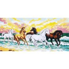 (OP=OP) Paarden in de branding