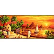 Aan de oevers van de Nijl