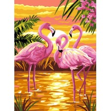 Roze Pelikanen - Flamants Roses