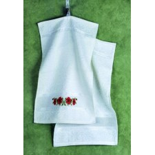 Gastendoekje klaprozen - Towel Poppy 2 pcs
