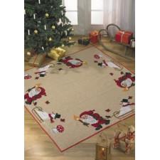 Kerstkleed elfen/sneeuwman - Zwerg/Schneemann - Elf/Snowman
