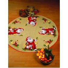 Kleed kerstman met dieren XL Santa Claus w/animals - Weihnachtsm, m/Tiere