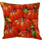 Pompoenen (canvas cushion pumpkins)