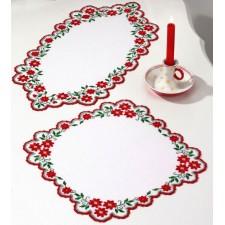 Tafellopertje kerstrozen - Christmas roses