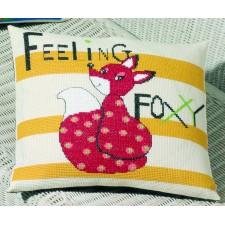 Kussen Feeling Foxy - rode vos