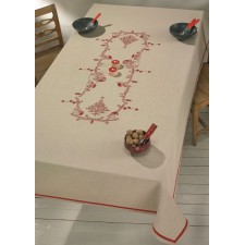 Printed tablecloth Little Elfs