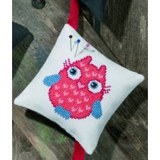 Pincushion,red owl