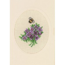 Flowercard violet