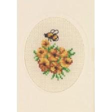 Flowercard calendula