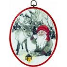 Elf & reindeer