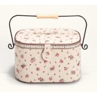 Sewing basket Country Rose L