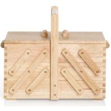 Naaibox hout blank M
