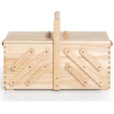 Naaibox hout blank L