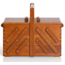 Naaibox hout donker M