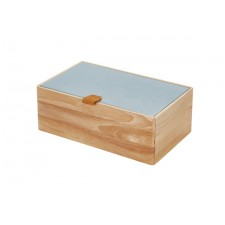 Assortment box wood S blue