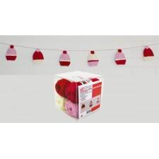 Zelfmaakpakket gehaakte cupcake slinger