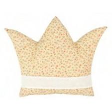 Kussen kroon geel