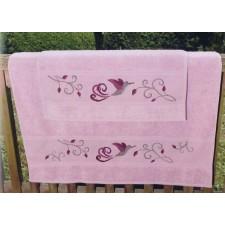 Handdoek oudroze