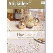 Stick-Idee Hardanger kerst no.42