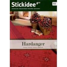 Stick-Idee Hardanger kerst no.43