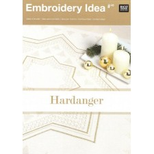 Embroidery Idea Hardanger kerst no.49