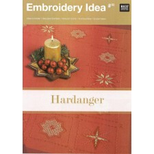 Embroidery Idea Hardanger kerst no.50