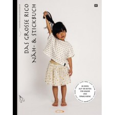 Het grote Rico naai- en borduurboek - Das grosse Rico Näh- & Stickbuch