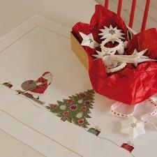 Kerstlopertje Santa Claus