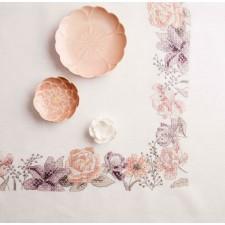 Tafelkleedje lentebloemen