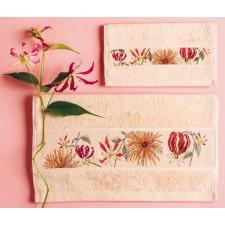 Handdoek poederroze