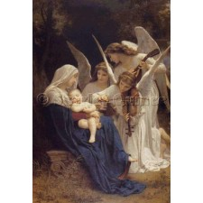 Song of the Angels - William Bouguereau