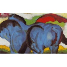 The Little Blue Horses - Franz Marc