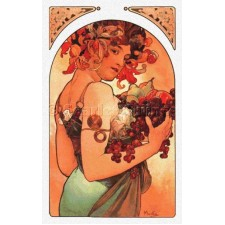 Fruit - Alphonse Mucha